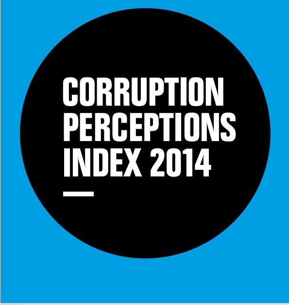 Resultado de percepção de índice mundial da corrupção 2014