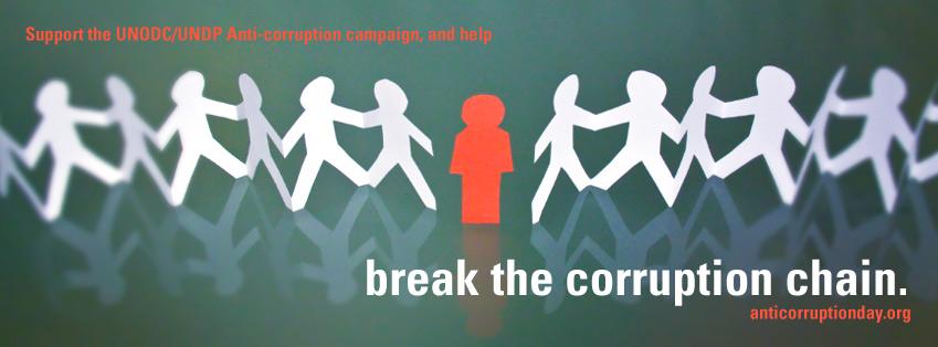 9 de dezembro dia Internacional Anticorrupção