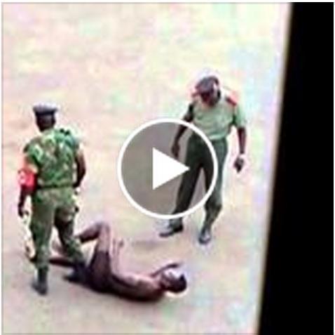 Denúncia de tortura nas forças armadas.