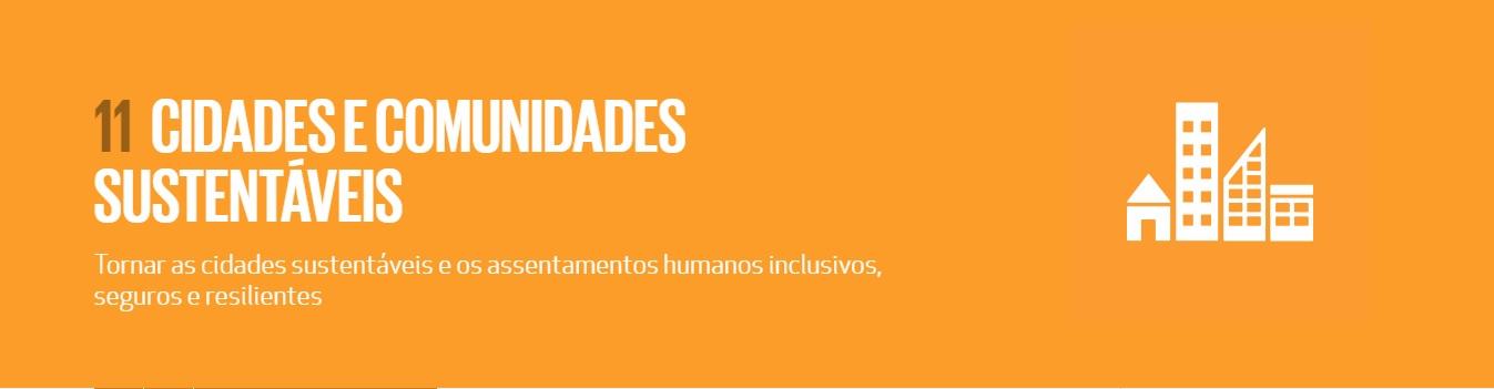 11 CIDADES E COMUNIDADES SUSTENTÁVEIS